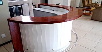 Solid Wood Counter Surfaces in nelspruit (Mpumanga - South Africa)